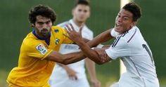Cristian Benavente está en el Real Madrid desde que era muy niño. Setiembre 20, 2014.