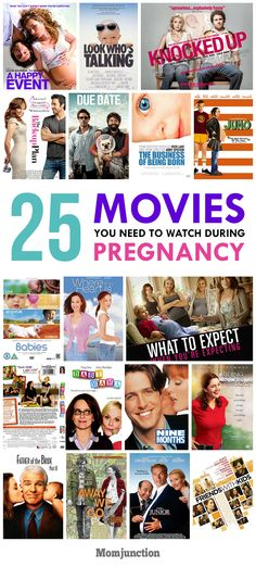 25 Movies You Need To Watch During #Pregnancy :we've compiled a list of 25 movies that will keep you entertained while you wait for the littlest member of your family. Check them out below!