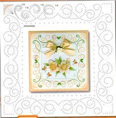 patronen om te borduren op kaarten