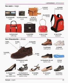 Les sacs - Les chaussures