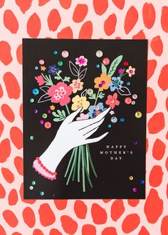 Print off a Mother's Day Bouquet and slip in a gift card for the special women in your life! Mothers Day Crafts For Kids, Fathers Day Crafts, Mothers Day Cards, Happy Mothers Day, Mother Day Gifts, Mom Gifts, Diy Mother's Day Crafts, Father's Day Diy, Mother's Day Gift Card