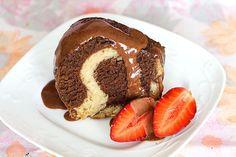 Recette cake marbre au chocolat et noix3