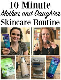 10-Minute Mother and Daughter Skincare Routine AD SkincareAdventures