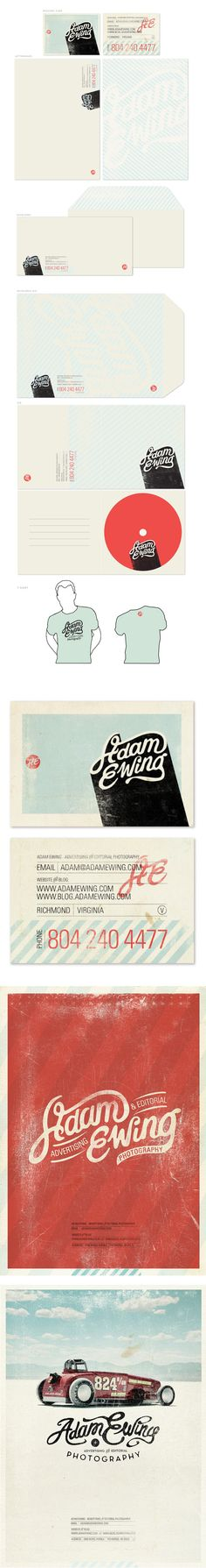 Identidad Corporativa / Adam Ewing by Alex Ramon