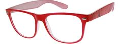 Women's Red 2909 Flexible Plastic Full-Rim Frame | Zenni Optical Glasses-XGxvRxFf