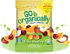 Go Organically Fruit Snacks Review and Sweepstakes - God4bAndMe - Where faith, fashion, food and fun meet or collide