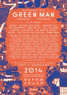 New additions to the GREEN MAN FESTIVAL line-up!  Grab those tickets here: www.ticketline.co.uk/green-man