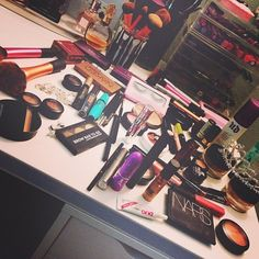 Some of Nicole Guerriero's makeup luv her makeup choices.
