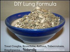 This herbal combination for lungs has been a lifesaver for one of my daughters.  She began getting horrible coughs a few years ago on...
