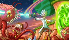 Rick and Morty by Sawuinhaff.deviantart.com on @DeviantArt