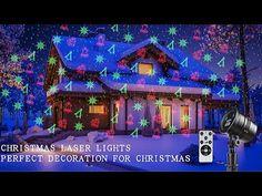 Christmas Light Projector, Laser Christmas Lights, Christmas Lights Outside, Outside Projector, Star Shower Laser Light, Projectors, Seasonal Decor, Christmas Ideas, Decor Ideas