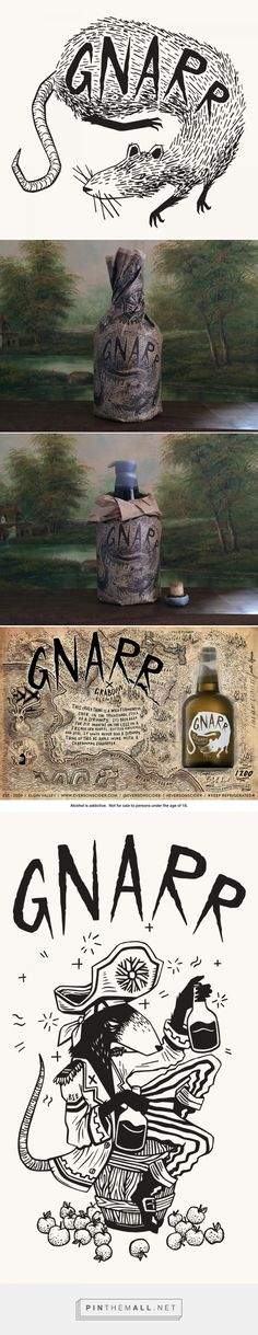 """Gnarr 2015 on Behance by Shaun Hill curated by Packaging Diva PD. Update on one of my favorite """"odd"""" packaging pins Gnarr : )"""