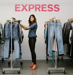 Melody Rains of #Express Denim