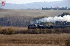 Travel on board vintage trains along Italy's scenic railway lines