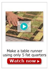 1000 images about 10 minute table runner video on for 10 minute table runner directions