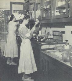 Image detail for -Gordon Keller student nurses.