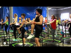 15-Minute Trampoline Workout | Follow-Along Fitness | Health - YouTube