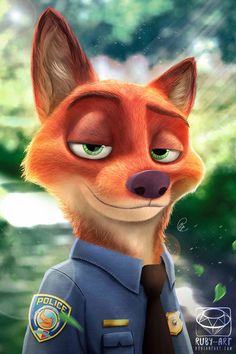 Zootopia - Nick Wilde by Ruby--Art on DeviantArt