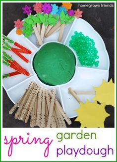 Spring Garden Playdough Kit