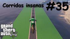 GTA V - Corridas insanas - Manobras e Crânios Rachados #35