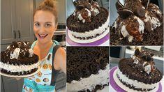Giant Oreo Cake via Sweet Janine's.