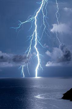 Gewitter-Blitz