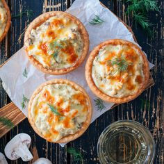 Appetizer Dips, Canapes, Small Plates, Empanadas, Camembert Cheese, Cooking Recipes, Snacks, Fresh, Dishes