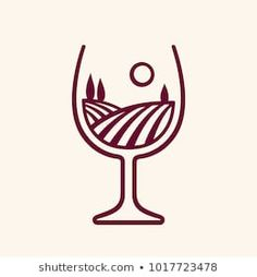 Find wine+logo stock images in HD and millions of other royalty-free stock photos, illustrations and vectors in the Shutterstock collection. Easy Food Art, Amazing Food Art, Creative Food Art, Food Art For Kids, Diy Food, Identity Card Design, Logo Design, Winery Logo, Candle Logo