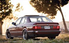 Télécharger fonds d'écran 4k, BMW série 5, e34 525i, le réglage, la position, les voitures allemandes, BMW