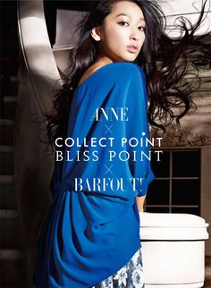 Anne |  COLLECT POINT x BLISS POINT x BARFOUT!