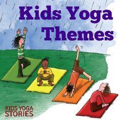 Year-Round Monthly Kids Yoga Themes| Kids Yoga Stories