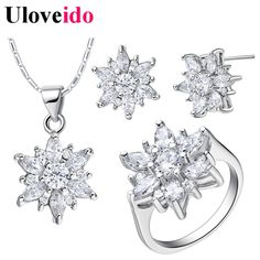 Find More Jewelry Sets Information about Christmas Gifts Wedding Jewelry Sets With Stone for Sale Earrings Ring Necklace Bridal Jewelry Set Rhinestones Uloveido T508,High Quality gift case,China gift dancer Suppliers, Cheap gift printer from Uloveido Official Store on Aliexpress.com
