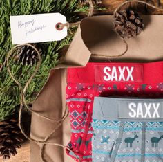 Don't forget to add SAXX Underwear to your Christmas wishlist this holiday season! #YYC #YYCLiving #SAXXUnderwear