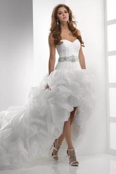 Short Front Long Back Wedding Dress | Short Wedding Dresses