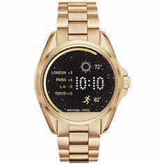 EL SMARTWATCH DE MICHAEL KORS Llega el #Smartwatch de #MichaelKors, un #relojinteligente sin perder el estilo de la marca. Te permitirá personalizar la pantalla y mantenerte conectado con las notificaciones de mensajes, llamadas, correos electrónicos; además también te ayudará estar en forma pues mide tus pasos, la distancia y las calorías consumidas. Compatible con dispositivos #iPhone y #Android. http://www.todo-relojes.com/detalle.asp?codigo=29174 #relojesMichaelKors