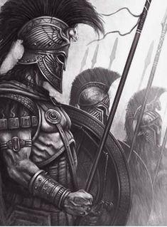 Warrior Tattoo Sleeve, Warrior Tattoos, Viking Tattoos, Sleeve Tattoos, Angel Warrior Tattoo, Gladiator Tattoo, Spartan Tattoo, Greek Mythology Tattoos, Knight Tattoo