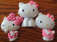 This is a listing for (1) YOU choose Cabochon Id Badge Reel Holder to be handmade by me, EvezBeadz.  You may choose from (I have (1) of each shown) Hello Kitty Light Pink Wink Hello Kitty Dark Pink Wi