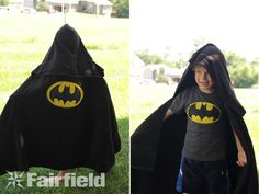 Super Hero Hooded Towels Tutorial