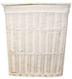 Cesta de Mimbre Escalera Oval woodluv//paso cestas de almacenamiento de cesta con Asa Verde