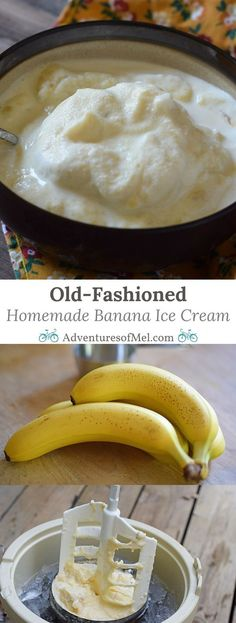 Homemade banana ice cream was always a special treat growing up in my family. We made it for any type of get together in the summertime, and church ice cream socials in our little country church were a big event back then. While I loved every flavor, there's something special about my dad's homemade banana ice cream recipe. How to make old-fashioned homemade banana ice cream using an ice cream maker.