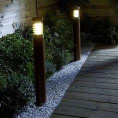 L clairage solaire du jardin id es d co pinterest for Eclairage jardin castorama
