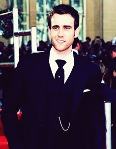 I always new Matthew Lewis was adorable, but now, he's just plain beautiful.