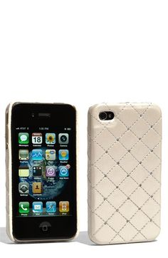 Swarovski Crystals iPhone case. Have this one! Wish they would make one for iPhone 5