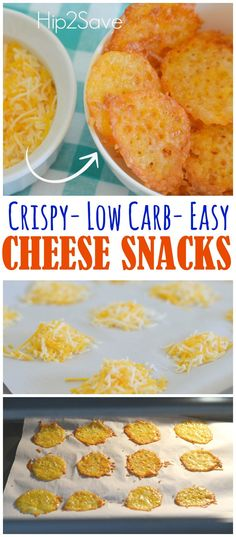 Low Carb One Ingredient Cheese Snacks – Hip2Save