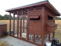 The Palace Chicken Coop: Free Chicken Coop Plan ~ http://steamykitchen.com