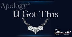 """What's the perfect apology?  Diamonds of course!  Do you agree? #Diamonds #PerfectApology #Love #ImSorry"""""""