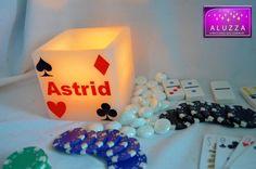 Pantalla de cera para recuero de XV años temáticos de Casino ALUZZA.