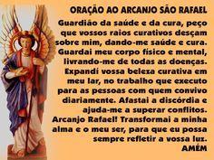 orações arcanjo rafael