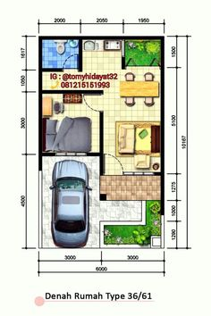 Home Plan type 36/61.
