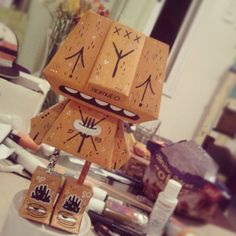 // Paperfest (Paper Toy) by Borneo Modofoker , via Behance